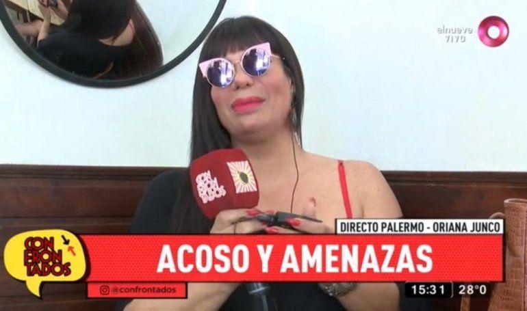 Oriana Junco, amenazada de muerte: Me encerró seis horas, está desequilibrado