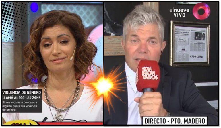 El fuertísimo cruce de Carla Conte y Fernando Burlando: Darthés eligió Nicaragua para violar a Thelma; eso corre por tu cuenta y se puso peor