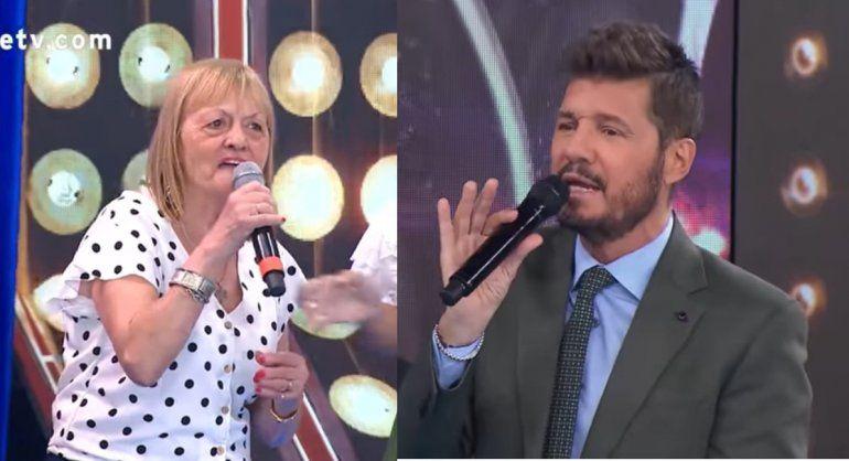 La escena de celos de Marcelo Tinelli a Conce, la abuela de Nico Occhiato, por su visita al programa de Mirtha Legrand