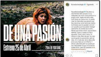 Romina Gaetani se refirió al posteo que Facundo Arana le dedicó hace unos meses: Es algo que él cree que vio