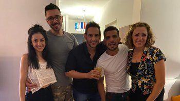 El llanto al aire de Rodrigo Lussich al presentar a su novio