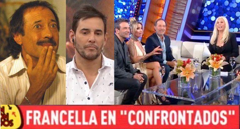 Francella aclaró qué pasó con Érica Rivas el domingo al no estar con Susana: ¿La bajó la diva?