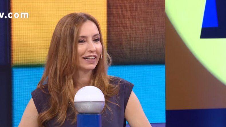 Pasapalabra derrapó: Analía Franchin contó cómo se las ingenia para saber si un hombre la engañó