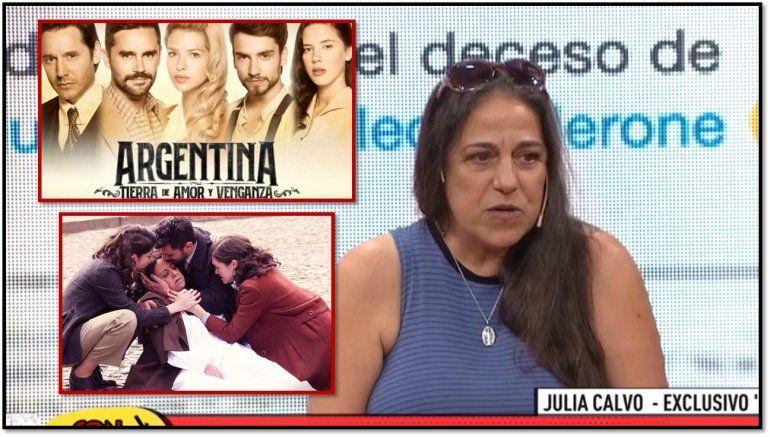 La primera muerta de ATAV sigue sin consuelo: Julia Calvo contó por primera vez por qué la echaron de la novela