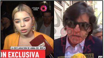 anna del boca ratifico la denuncia contra su padre ricardo biasotti: declaro cinco horas y dio detalles escabrosos