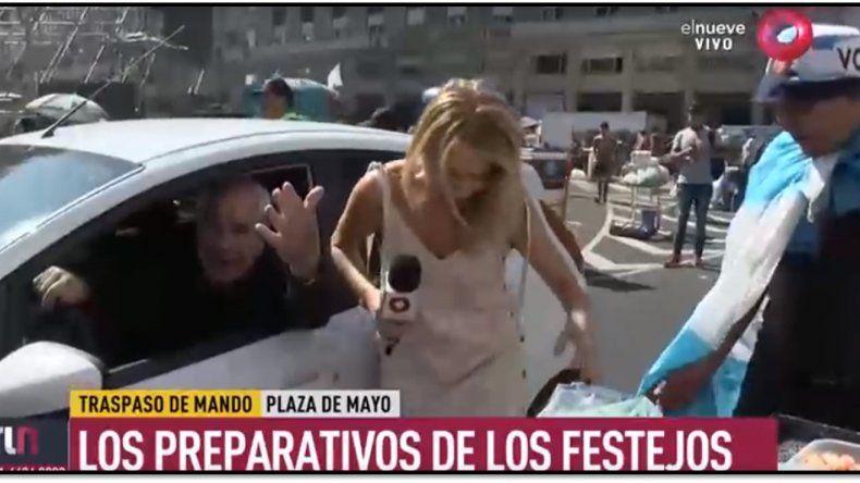 Atropellaron a una periodista de El Nueve, cuando cubría los preparativos de la asunción presidencial