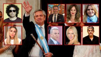 el nuevo gobierno y los famosos en las redes: tsunami de tweets