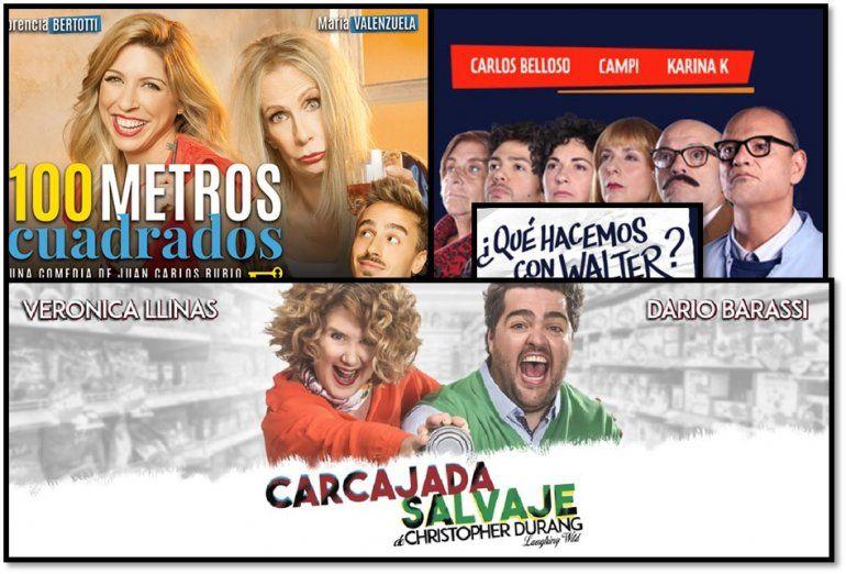 Las obras de teatro más vistas de Buenos Aires
