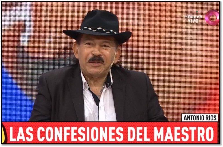 Después de tener 20 hijos y no usar nunca un preservativo, Antonio Ríos tomó una drástica decisión