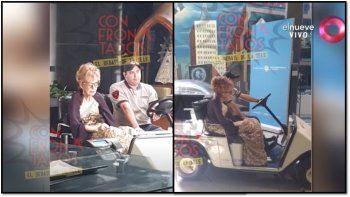 la vuelta de pinky: despues de las escandalosas imagenes la conductora nuevamente hizo su programa