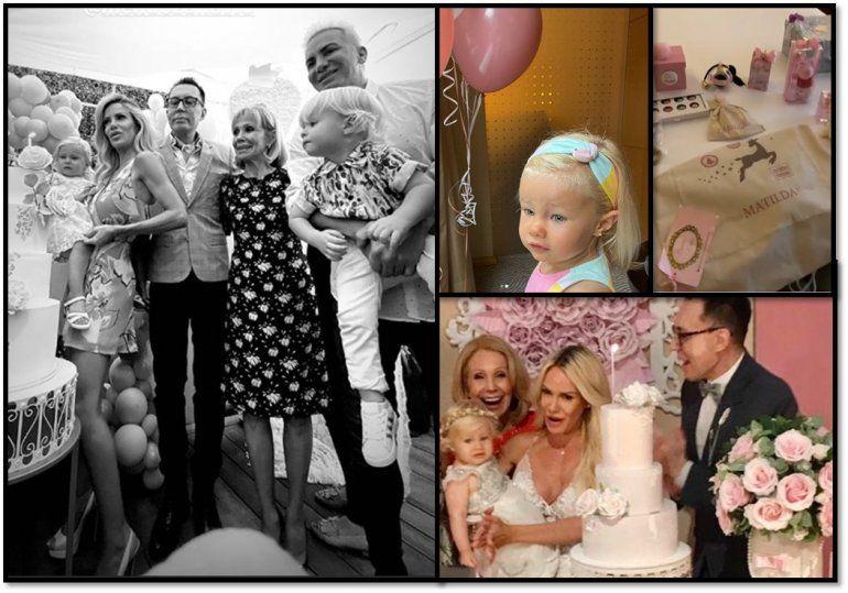 Todos los detalles del festejo de Matilda la hija de Luciana Salazar