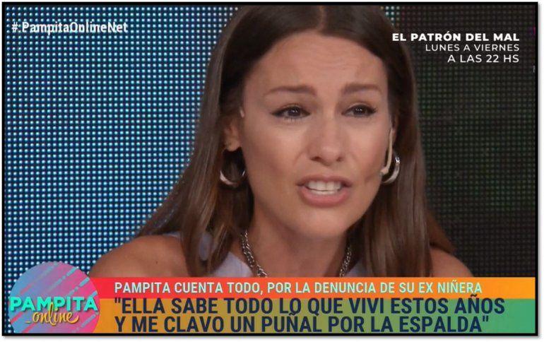 Desconsolada Pampita explicó punto por punto las acusaciones de su ex niñera