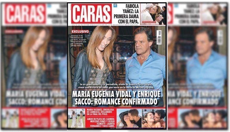 Romance confirmado: todos los detalles de la relación de María Eugenia Vidal y Enrique Sacco