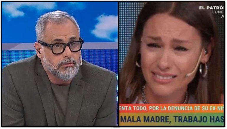 Pampita le respondió  a Jorge Rial: No importa lo que digan...