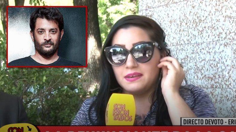 Érica Basile apareció por primera vez en televisión y amplió su denuncia contra Pablo Rago: Después del hecho se puso a pintar en la cama