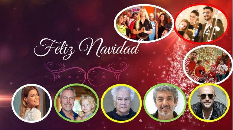 Los saludos y deseos de Feliz Navidad de los famosos