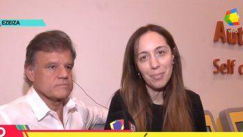 Súper enamorados Quique Sacco y María Eugenia Vidal viajaron a París: Estamos muy bien