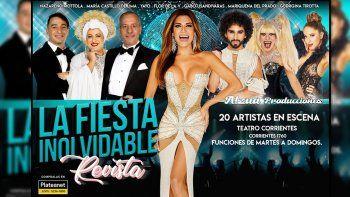 Con Flor de V vuelve la revista a Mar del Plata a partir del 29 de diciembre