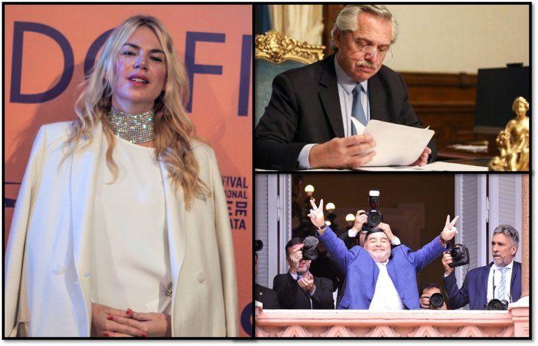 En medio de la polémica con las Maradona, Esmeralda Mitre apoyó al presidente: estoy de acuerdo con las medidas