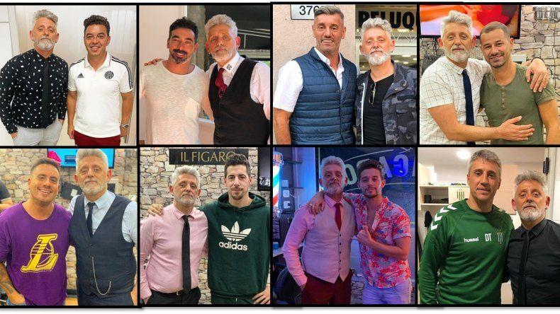 Discovery presenta Axe barber club, un ciclo de entrevistas con el Tano Figaro