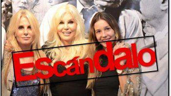 Confuso episodio con la nieta de Susana Giménez: gritos
