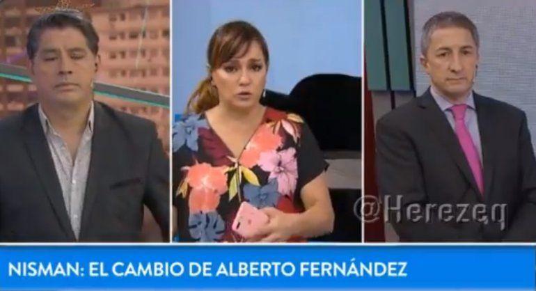 Tensión al aire entre Lorena Maciel y Adrián Ventura por el caso Nisman
