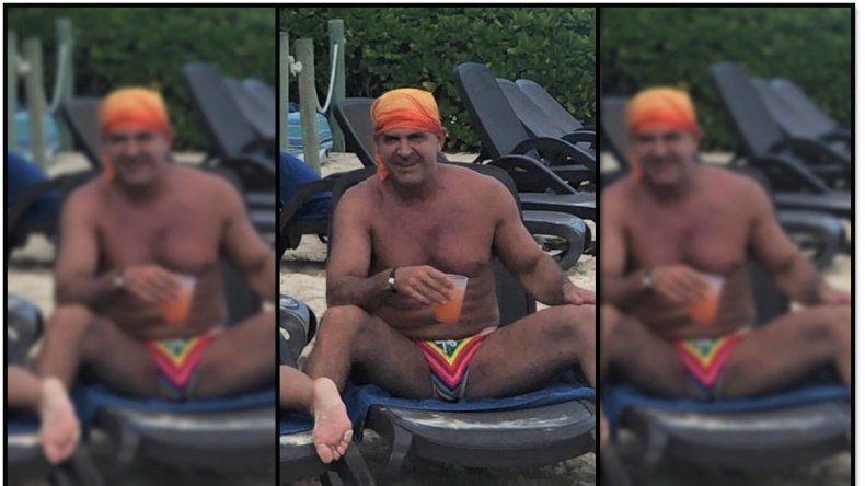 El satánico doctor Lotocki reaparece en México, de vacaciones en un resort, tras las denuncias por mala praxis