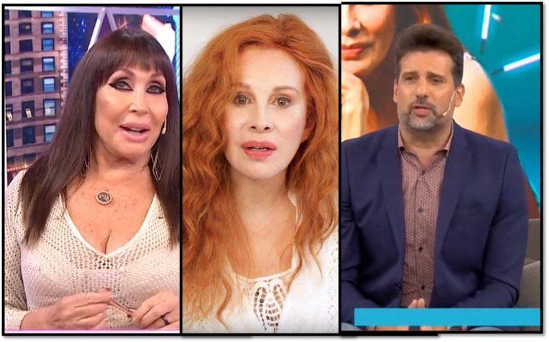 Moria Casán defendió a Nacha Guevara y Listorti habló de maltrato hacia la directora