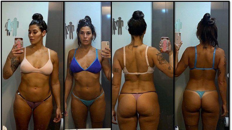 Ivana Nadal encontró el equilibrio; transformó su cuerpo y cambió la alimentación
