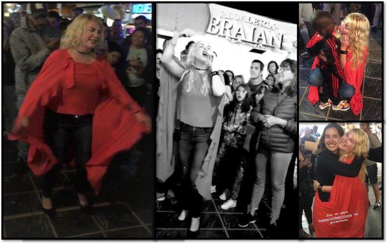 Del teatro San Martín a hacer temporada en Las Grutas: Esmeralda Mitre canta en la peatonal