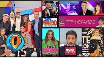 intrusos, el programa xl, mas rendidor de la television argentina