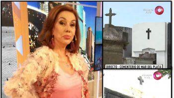 Nora Cárpena en guerra contra el cementerio de Mar del Plata luego del accidente