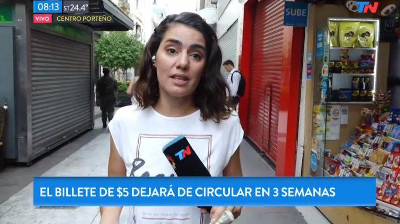 Valeria Sampedro, cronista de TN, furiosa por las notas que tiene que hacer y lo dice en vivo