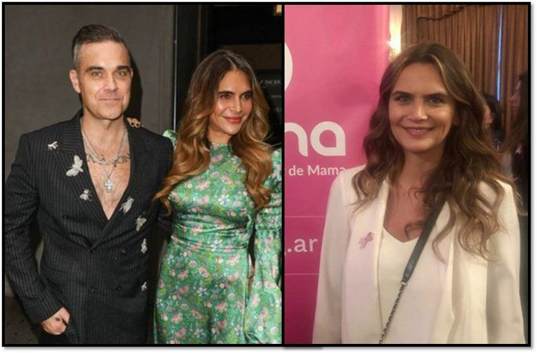 No la olvida: Robbie Williams tiene una esposa igual a Granata; en las redes lo gastan y es TT