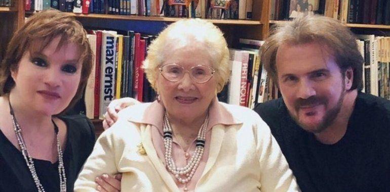 Triste noticia: Falleció la mamá de Lucía y Joaquín Galán
