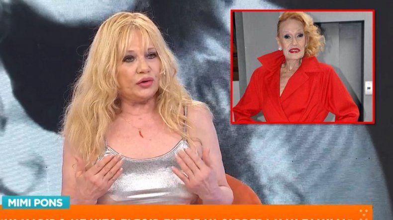 Mimi Pons reveló que su hermana Norma no le permitió volver a trabajar: Fue egoísta, me dijo yo no quiero que vuelvas