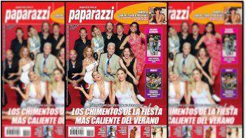 Salió la polémica tapa de revista Paparazzi con los elencos de Carlos Paz