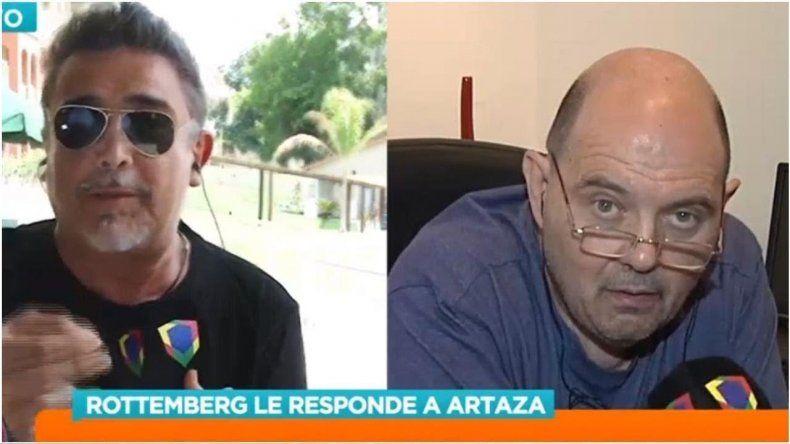 Fuerte enfrentamiento entre Carlos Rottemberg y Nito Artaza por la venta de entradas