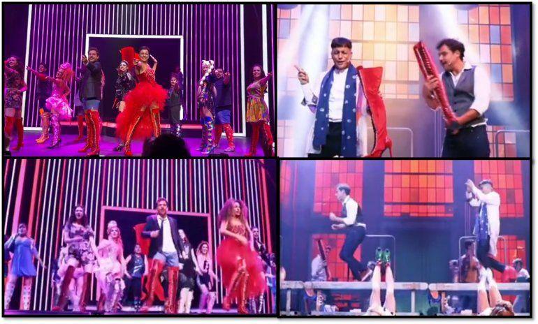 Los videos y la intimidad del estreno de Kinky Boots: el musical de Broadway que llegó a Buenos Aires