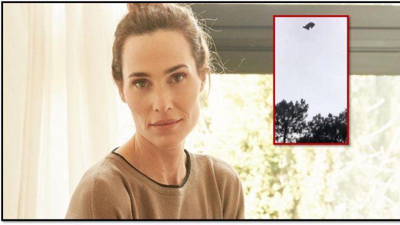Lara Bernasconi mandó un mensaje a sus amigos antes del helicóptero: Vengan a comer un cordero que va a caer del cielo