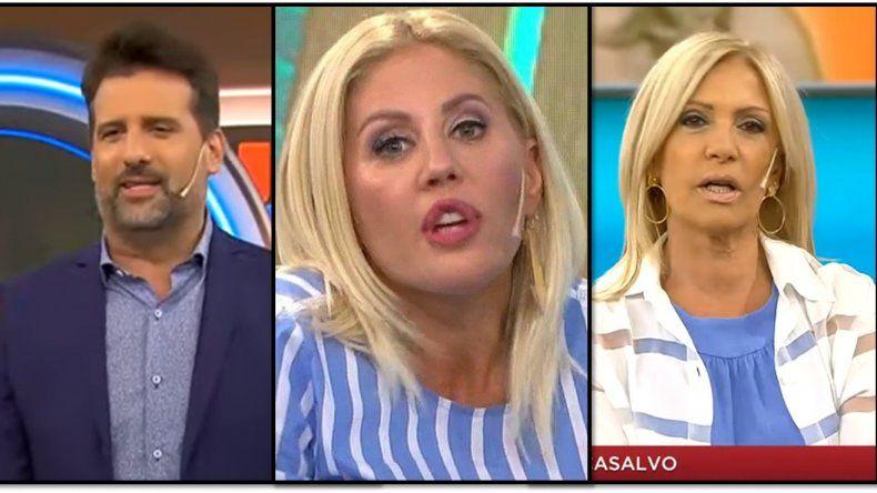 Incómoda situación entre Listorti y su panelista Barbie Simons cuando Susana Roccasalvo habló del hermano de su padre