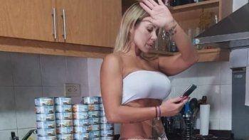 Mónica Farro es fan del atún y gracias al buen contrato de esta temporada no lo pidió como exigencia en su camarín