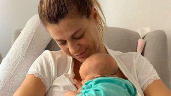 a un mes de ser madre eugenia tobal planea escribir un libro con lo que nadie cuenta: el lado  b de la maternidad