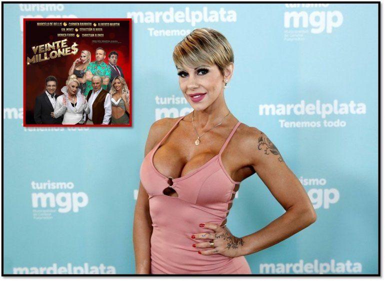 Otro escándalo en 20 Millones: Mónica Farro se desmayó en escena