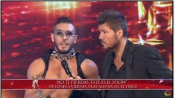 El día que Juan Carlos Acosta deslumbró a Tinelli bailando en tacos altos