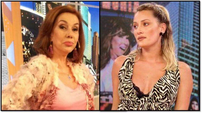 Continúa el enfrentamiento de Nora Cárpena y Mica Viciconte: no la imagino estudiando 5 meses, debería formarse