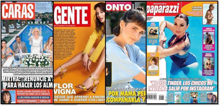 La mesa de Mirtha Legrand en Mar del Plata y las demás revistas de la semana