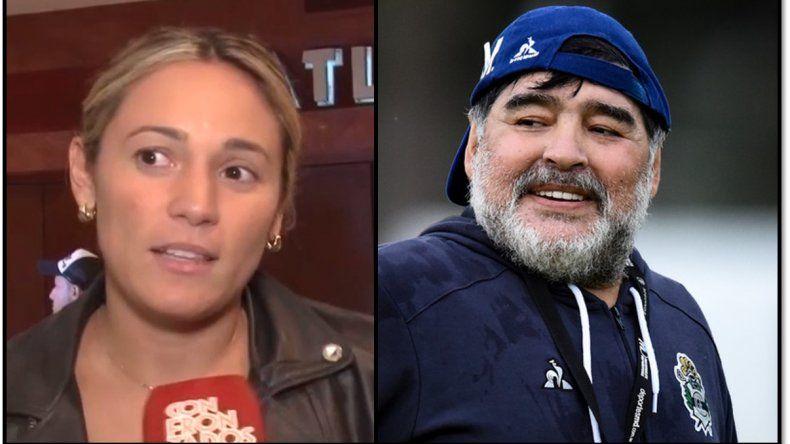 ¿Ex con derechos?: Diego Maradona y Rocío Oliva habrían pasado la noche juntos