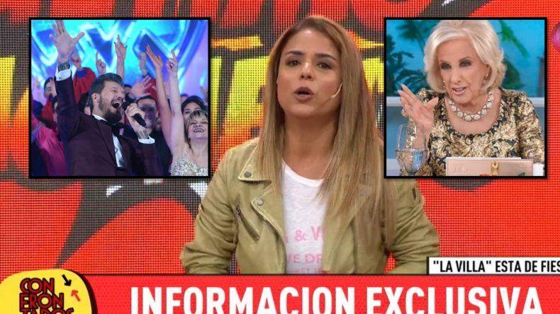 Marina Calabró aclaró si irá o no al Bailando y liquidó a Mirtha: Es más viva que el hambre