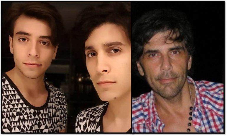 Los hijos de Juan Darthés debutaron como cantantes con un video de uno de sus temas